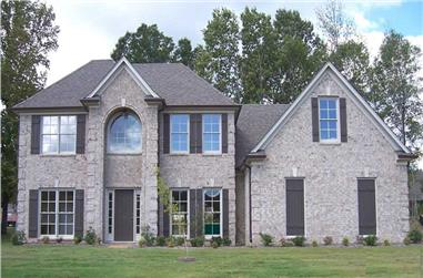 4-Bedroom, 2415 Sq Ft Southern Home Plan - 170-1337 - Main Exterior