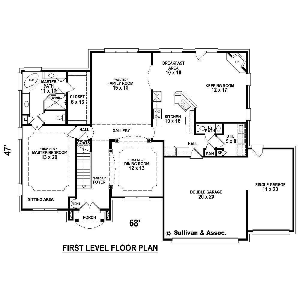 Large Images For House Plan 170 1350