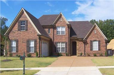 3-Bedroom, 2573 Sq Ft Southern Home Plan - 170-1360 - Main Exterior