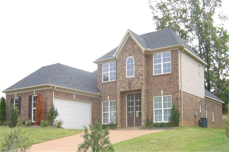 3-Bedroom, 2493 Sq Ft Southern Home Plan - 170-1364 - Main Exterior