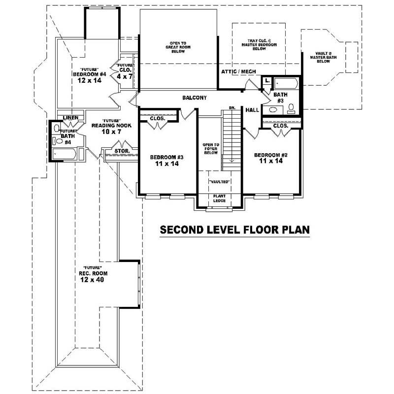 Southern house plans home design su 2241 576 1740 ft c for 576 sq ft floor plan