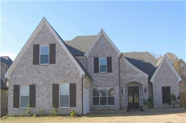 3-Bedroom, 3573 Sq Ft Southern Home Plan - 170-1436 - Main Exterior