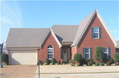 3-Bedroom, 2414 Sq Ft Traditional Home Plan - 170-1461 - Main Exterior