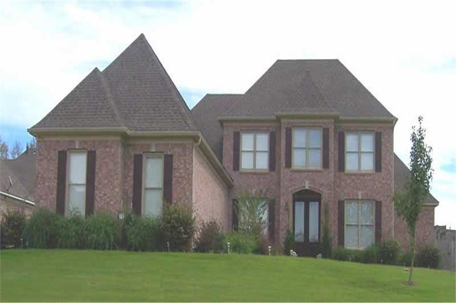 4-Bedroom, 3794 Sq Ft Southern Home Plan - 170-1462 - Main Exterior