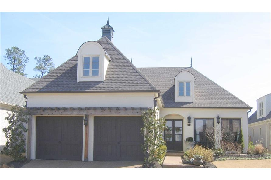 3-Bedroom, 2962 Sq Ft French House Plan - 170-1474 - Front Exterior