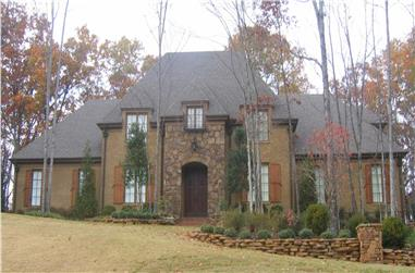 5-Bedroom, 4833 Sq Ft French Home Plan - 170-1475 - Main Exterior