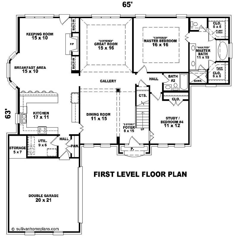 Southern house plans home design su 2241 576 1400 ft 20217 for 576 sq ft floor plan