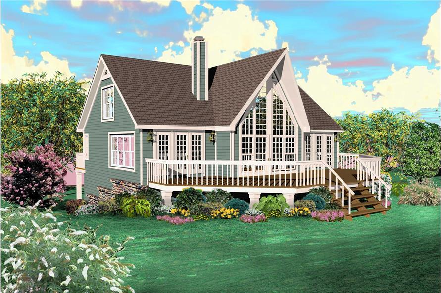 2-Bedroom, 1772 Sq Ft Coastal Home Plan - 170-1500 - Main Exterior