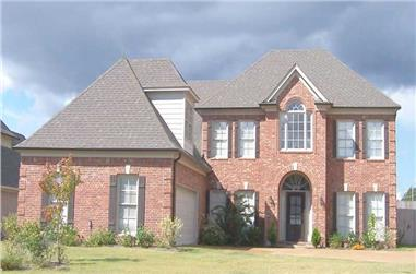 3-Bedroom, 2767 Sq Ft Southern House Plan - 170-1506 - Front Exterior