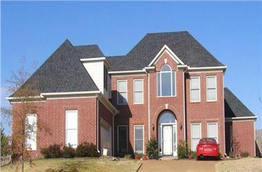 4-Bedroom, 3642 Sq Ft Southern Home Plan - 170-1511 - Main Exterior