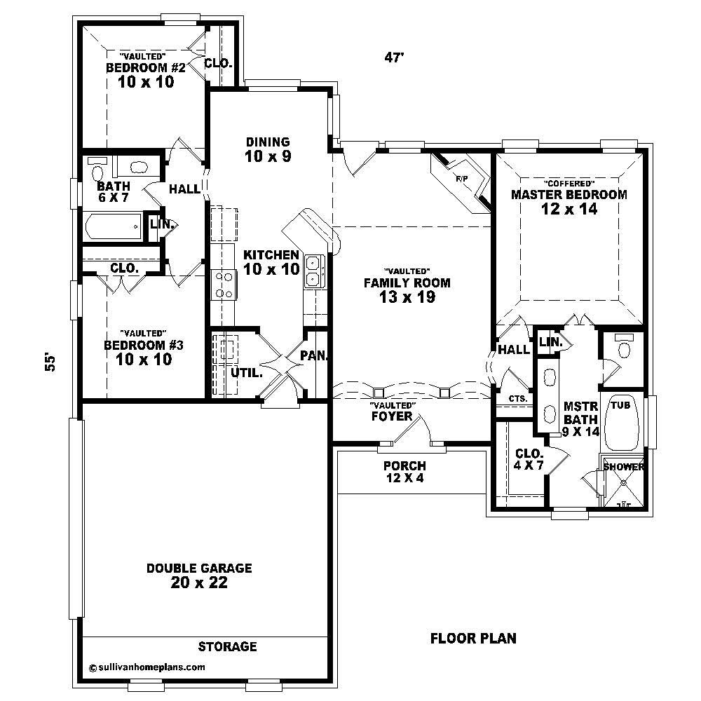 Small french house plans home design su b1399 539 f for 539 plan