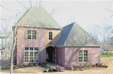 3-Bedroom, 3984 Sq Ft Country Home Plan - 170-1552 - Main Exterior