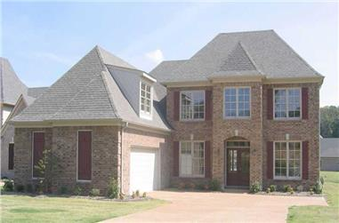 3-Bedroom, 2775 Sq Ft Southern Home Plan - 170-1578 - Main Exterior