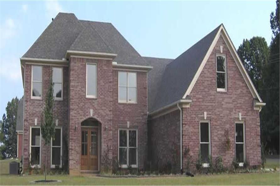4-Bedroom, 2971 Sq Ft Southern Home Plan - 170-1590 - Main Exterior