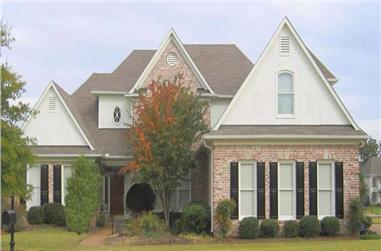 4-Bedroom, 3724 Sq Ft Southern House Plan - 170-1631 - Front Exterior