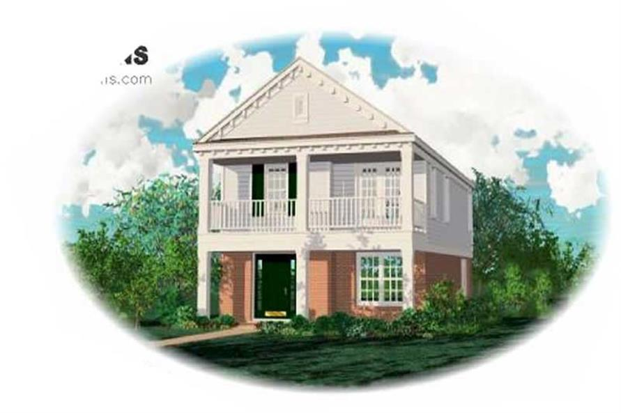 Main image for house plan # 7576