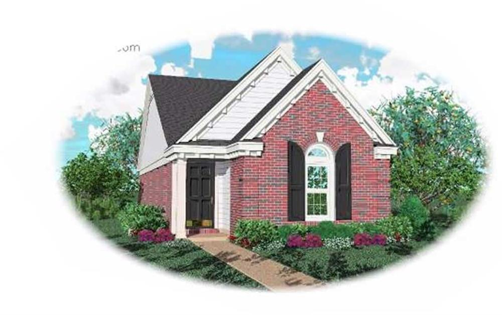 Main image for house plan # 7597