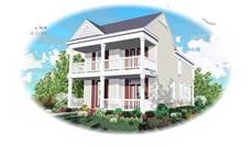 Main image for house plan # 7586