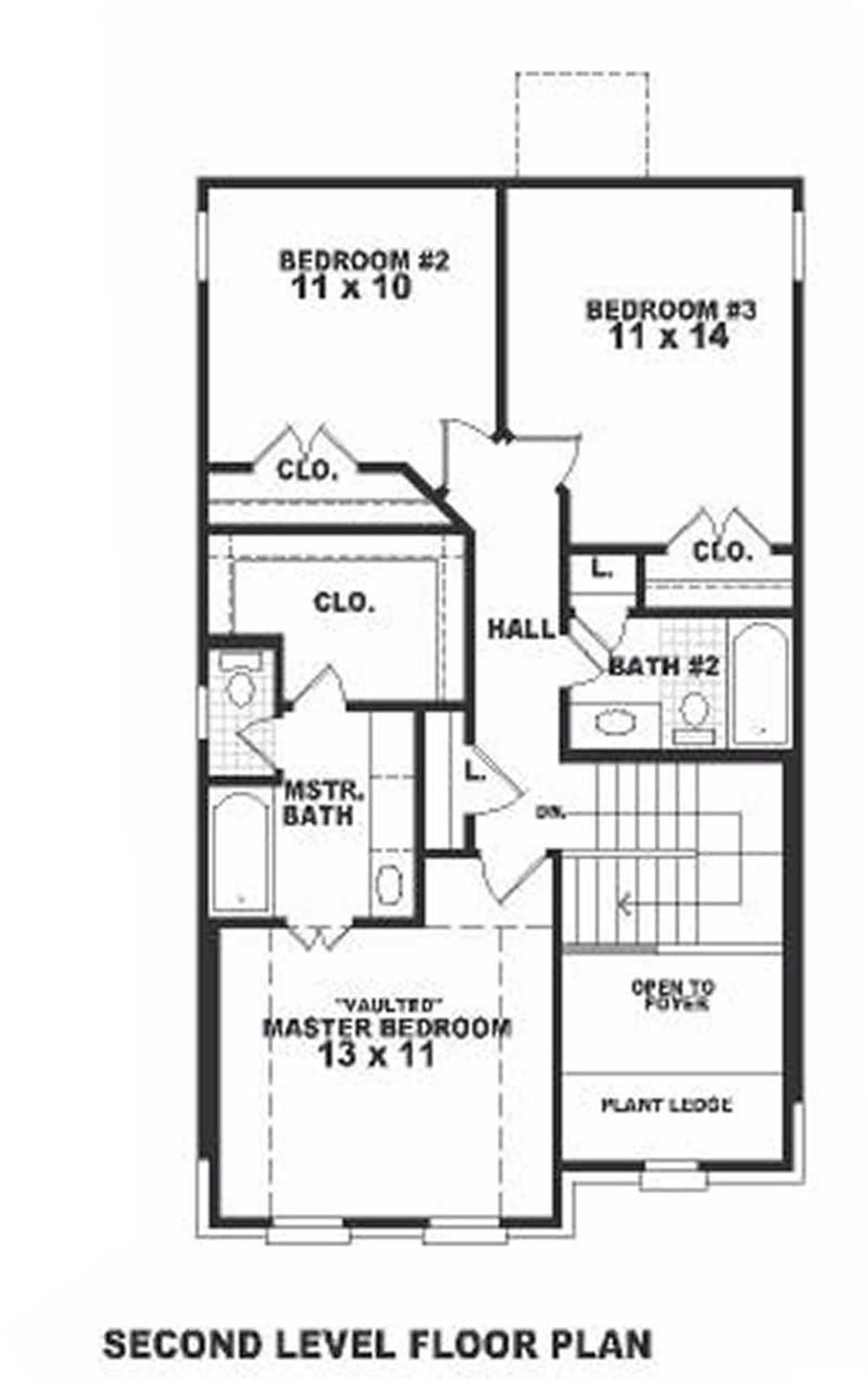 Large Images For House Plan 170 1666