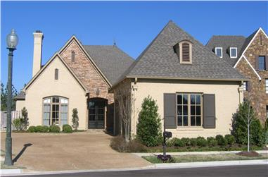 4-Bedroom, 3506 Sq Ft French Home Plan - 170-1687 - Main Exterior