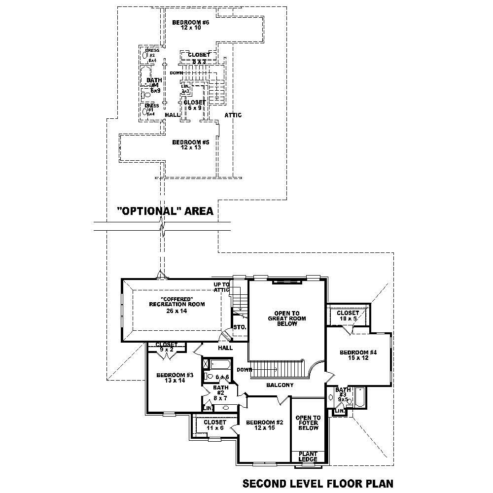 French house plans home design su b2510 1588 3977 f m for Floor plan in french