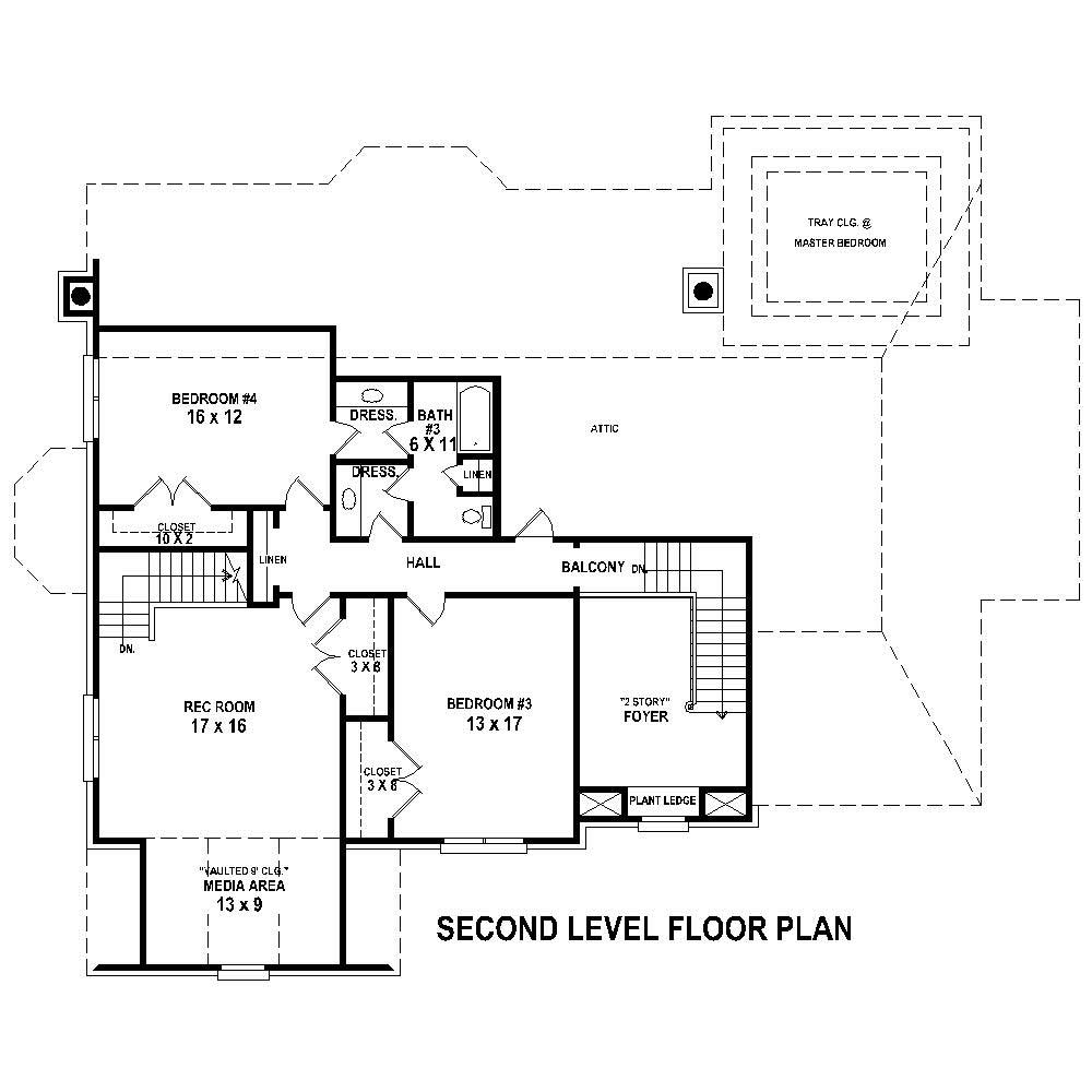 French house plans home design su b2600 1254 639 f for Floor plan in french