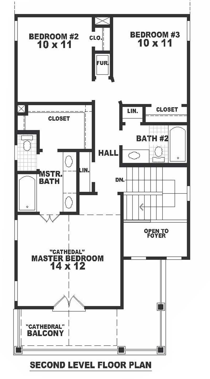 Multi level southern house plans home design b0926 720 780 iv 7582 for Multi level floor plans