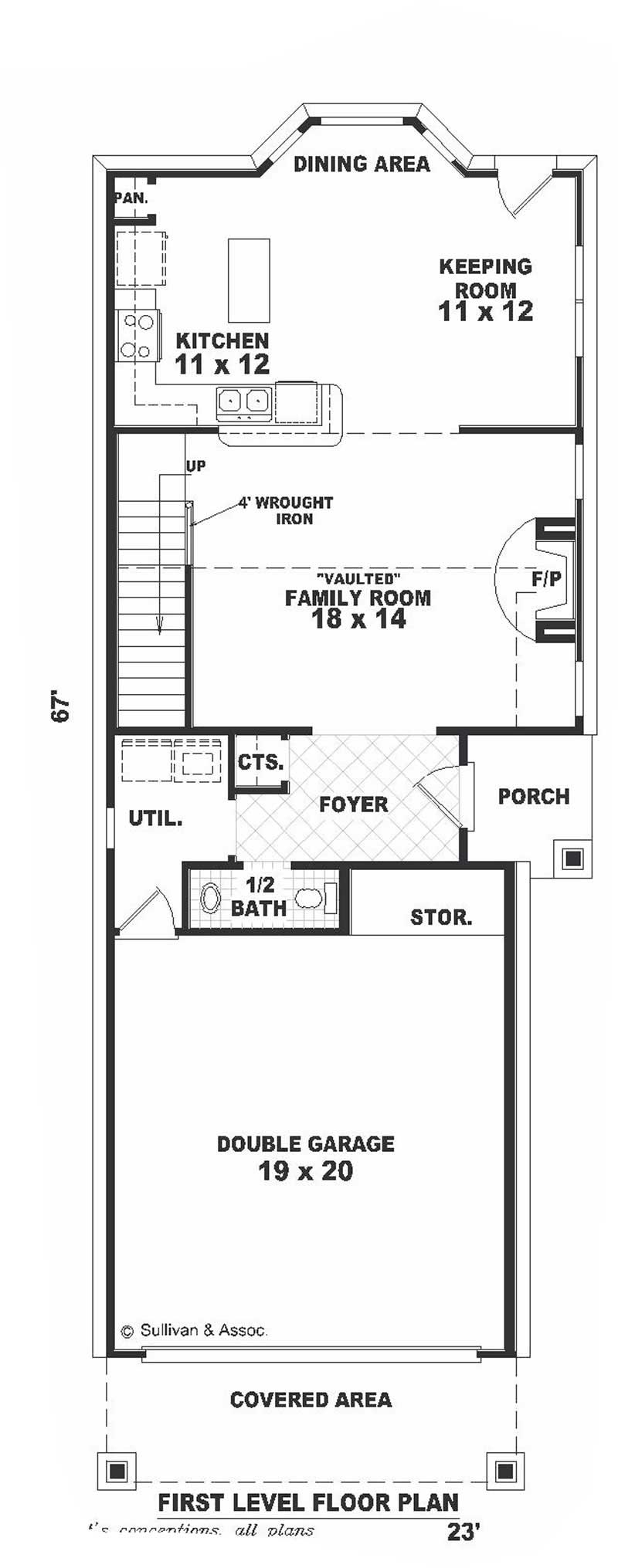 Contemporary multi level home with 2 bedrooms 1437 sq for Multi level floor plans