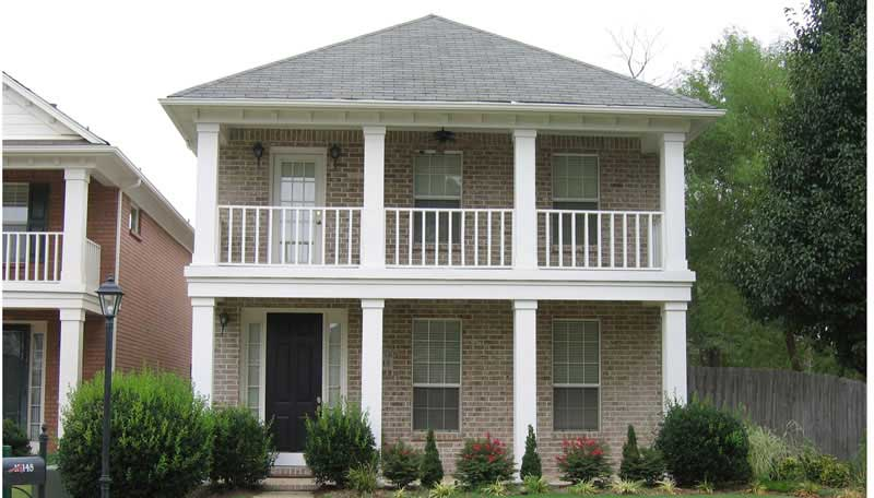Colonial Houseplans - Home Design B0929-1015-733-T on colonial houses with dormers, colonial houses with shutters, colonial house with 3 car garage, colonial house with painted brick,