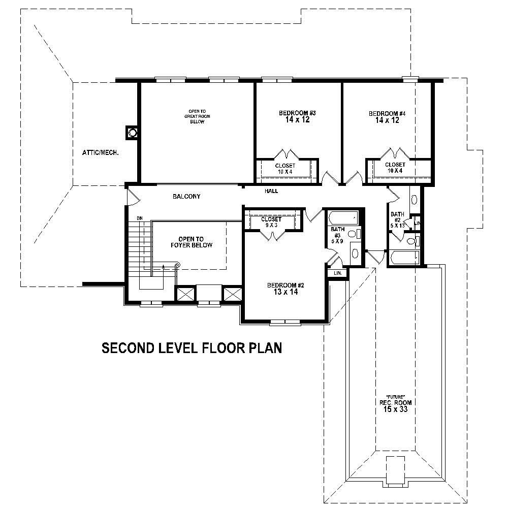 French house plans home design su b2900 1153 1578 f for Floor plan in french