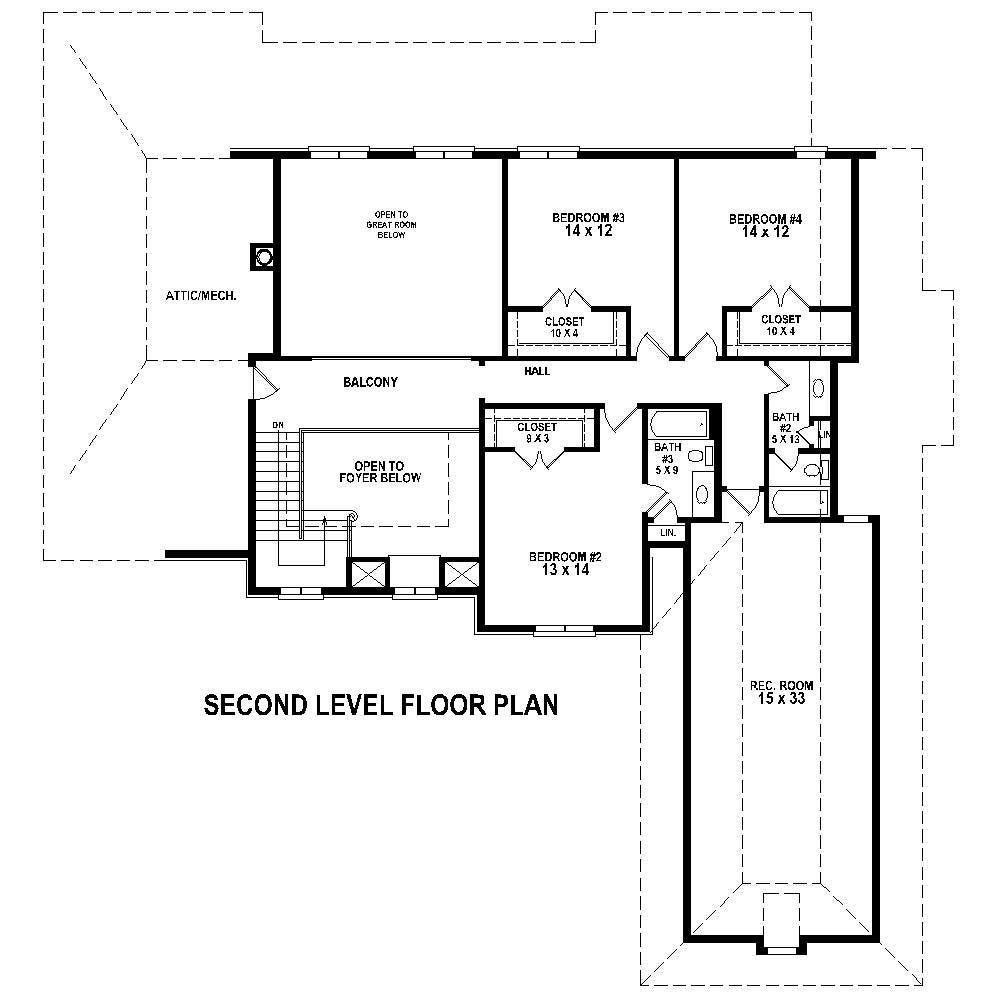 French House Plans Home Design Su B2900 1704 1027 F