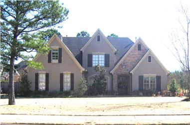 4-Bedroom, 3598 Sq Ft Country Home Plan - 170-1726 - Main Exterior