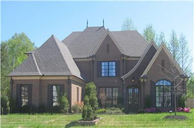 4-Bedroom, 3986 Sq Ft Country House Plan - 170-1748 - Front Exterior