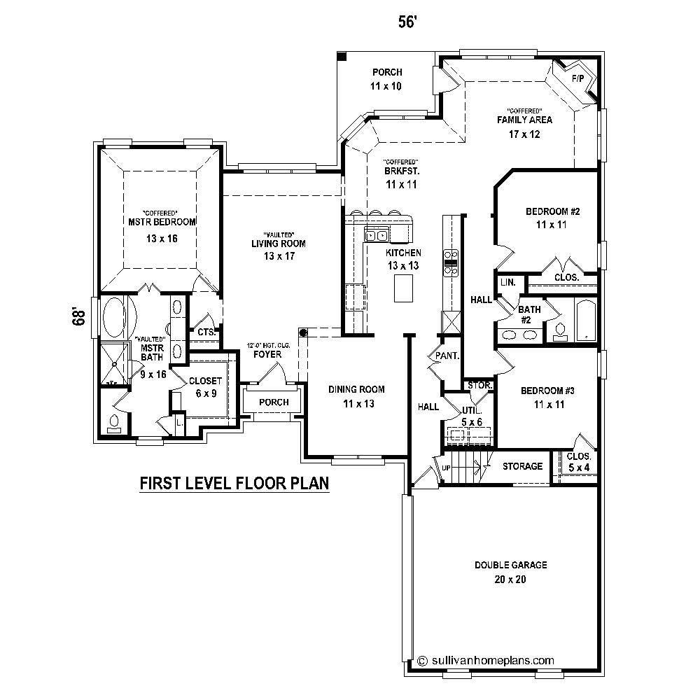 Large Images For House Plan 170 1773
