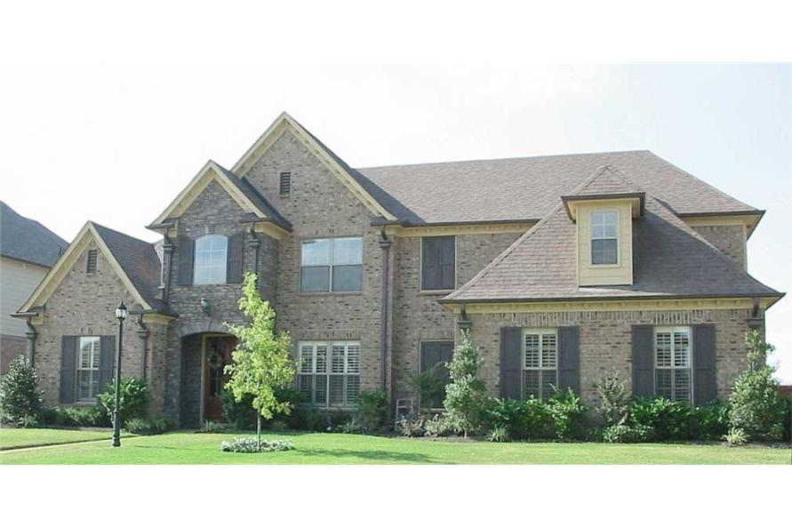 3-Bedroom, 3350 Sq Ft Country Home Plan - 170-1775 - Main Exterior