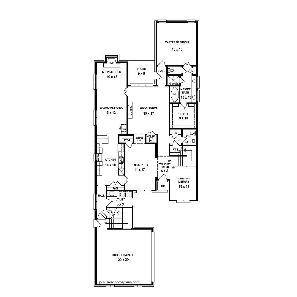French traditional house plans home design su b2141 1039 for Floor plan in french