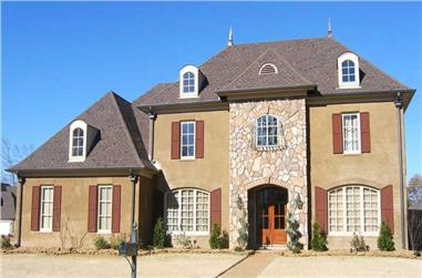 5-Bedroom, 3564 Sq Ft Southern Home Plan - 170-1795 - Main Exterior