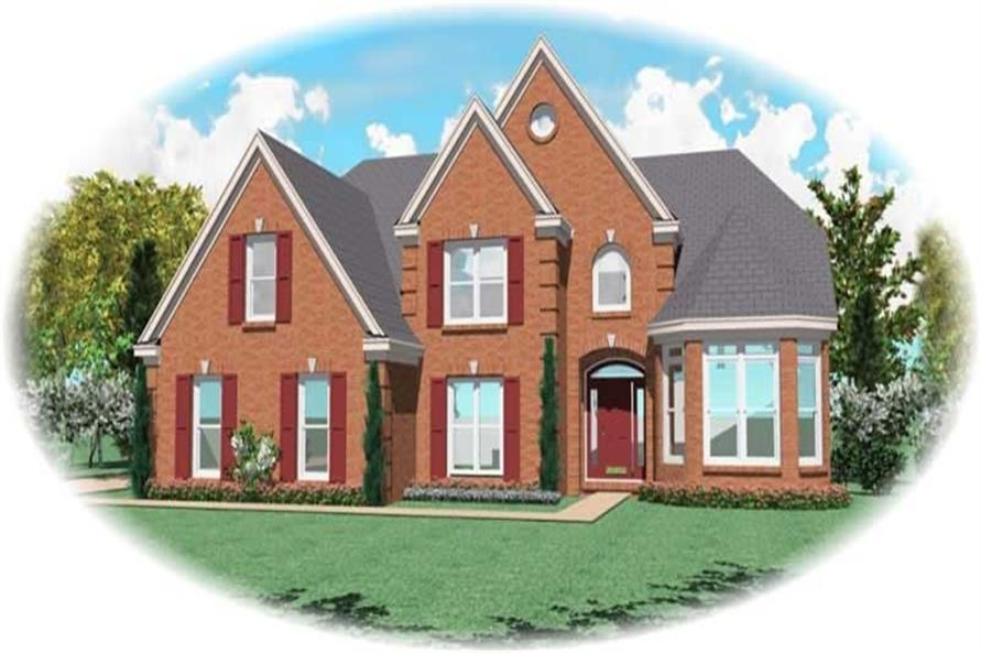 Main image for house plan # 11034