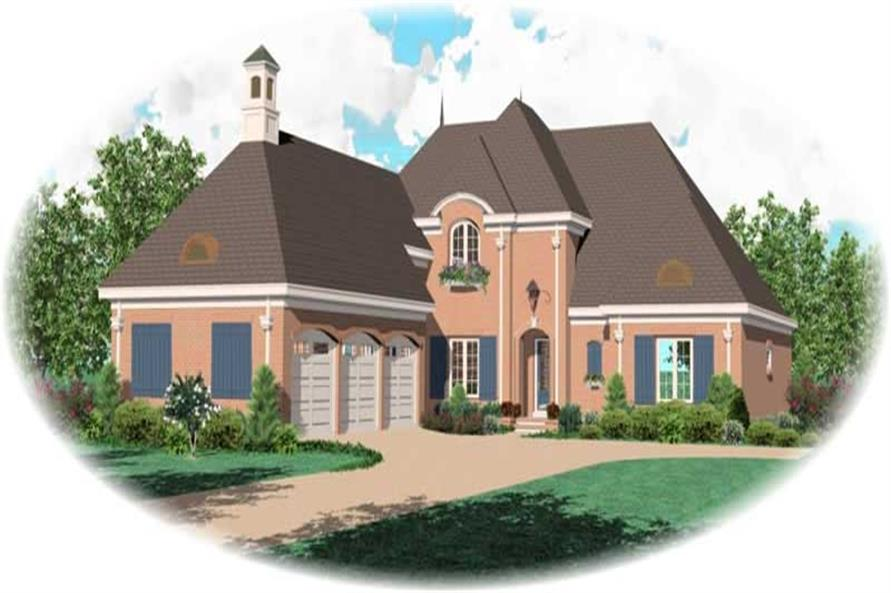 Main image for house plan # 10999