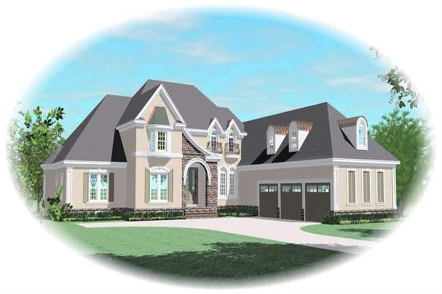 Main image for house plan # 11047
