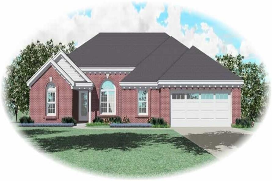 Main image for house plan # 10749
