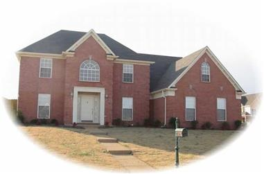 3-Bedroom, 3035 Sq Ft French Home Plan - 170-1907 - Main Exterior