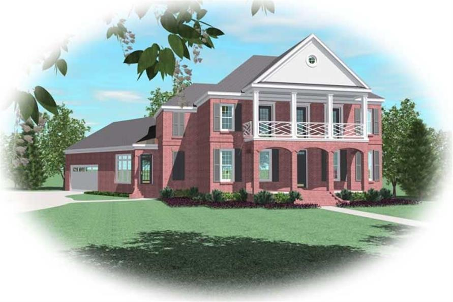 Main image for house plan # 10977