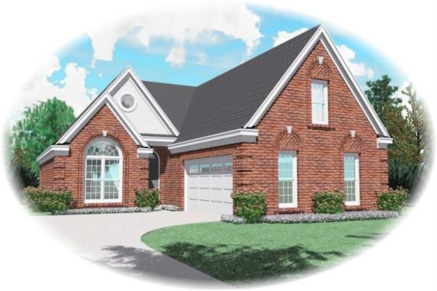 Main image for house plan # 10952