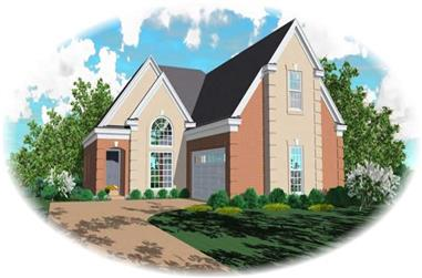 3-Bedroom, 2223 Sq Ft Traditional House Plan - 170-1920 - Front Exterior