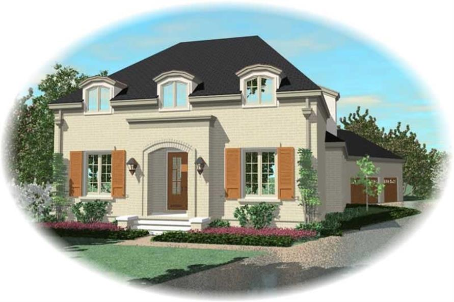 Main image for house plan # 10913