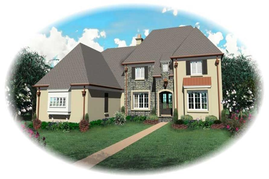 Main image for house plan # 10911
