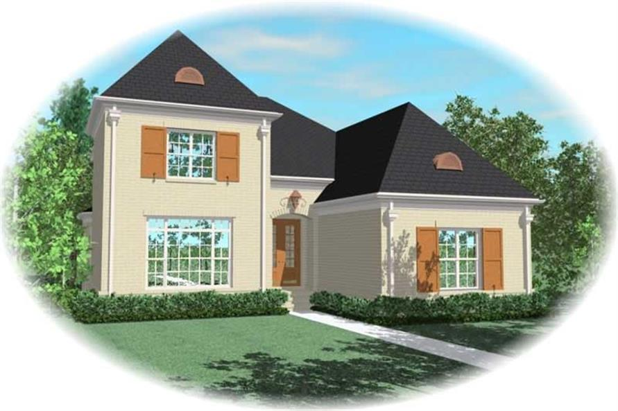 Main image for house plan # 10908