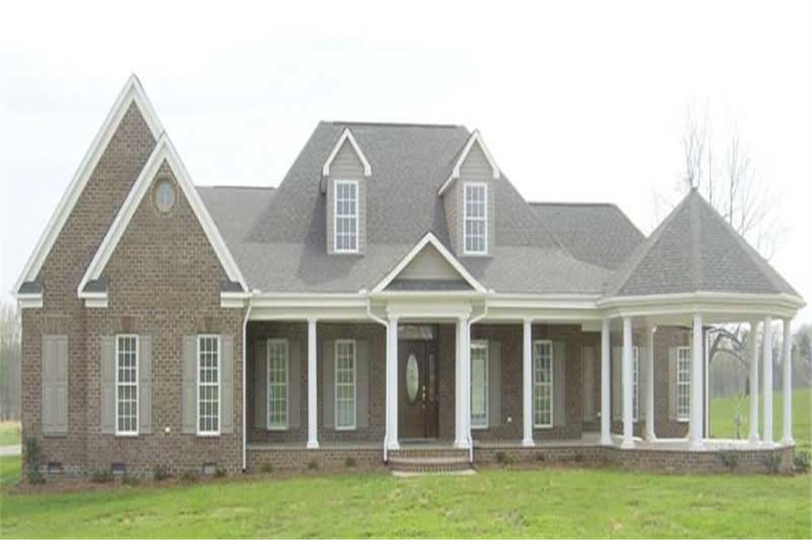 3-Bedroom, 3618 Sq Ft Country Home Plan - 170-1950 - Main Exterior
