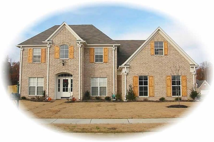 4-Bedroom, 2486 Sq Ft Country Home Plan - 170-1963 - Main Exterior